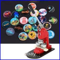 1.25 Button Maker Punch Press Machine 1000 Pin Badge Parts + Circle Cutter USA