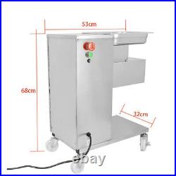 110V Meat Cutting Machine Meat Cutter Slicer 500KG with One Blade 2.5-50mm