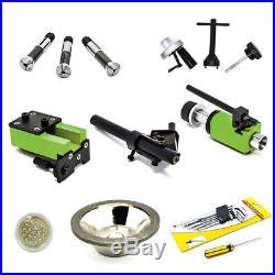 110V U3 Universal Tool Cutter Grinder Sharpener Machine Negative Angle US Stock