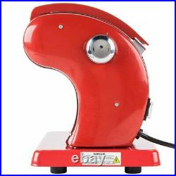 120 V Electric Pasta Machine Maker 9 Settings With Cutter Heavy Duty Countertop
