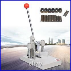 1x Manual angle machine Corner Rounder Punch Cutter R3 R4 R6 R8 R10 R13 7.5kg