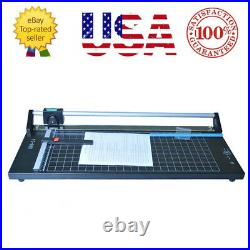 24'' Precision Rotary Paper Trimmer Portable Sharp Photo Paper Cutter Machine