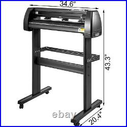 28 Vinyl Cutter Cutting Plotter Sign Making Machine Paper Feed with Stand