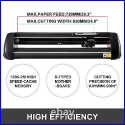 28 Vinyl Cutter Plotter Sign Maker Cutting Machine withSoftware + Supplies