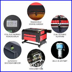 28x20 100W CO2 Laser Engraving Machine with LightBurn Ruida Engraver Cutter