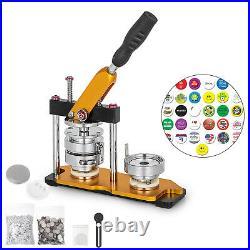 3 75mm Badge Button Maker 100pcs Rotate Badge Punch Press Machine Paper Cutter