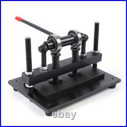 300150mm Manual Leather Cutting Machine Die Cut Cutter Embossing Machines
