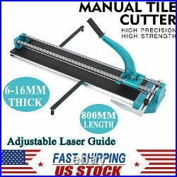 31 Manual Laser Guide Porcelain Ceramic Tile Cutting Cutter Machine Adjustable