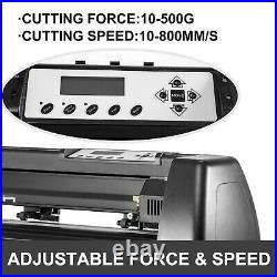 34 Vinyl Cutter Cutting Plotter Sign Making Machine Paper Feed with Stand