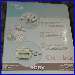 37-1051 PROVO CRAFT CUTTLEBUG DIE CUTTER & EMBOSSER MACHINE Brand New