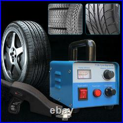 400W Tire Groover Machine Truck Car Rubber Tire Regroover Manual Grooving Cutter
