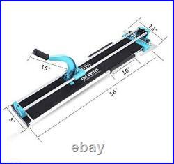 48'' Manual Tile Cutter Cutting Machine 0.24-0.6 Thickness Porcelain Ceramic