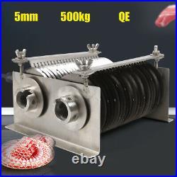5MM 0.2 One Set Blade for QE Model 500KG Meat Cutting Machine Cutter Slicer