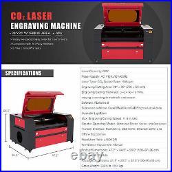 60W 20x28 Inch Workbed Laser Cutter and Engraver Machine w Ruida Control Panel