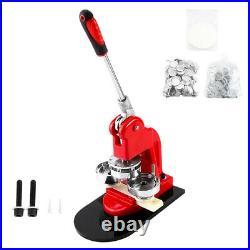 75mm 3 Button Maker Badge Press 100Pcs Circle Cutter Manual Making Machine