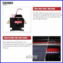 CO2 Laser Engraver Cutter 100W 28x20 Engraving Marking Cutting Machine 2020