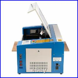 CO2 Laser Engraving Machine Engraver Cutter 20x12 50x30cm 50W with Rotary Axis