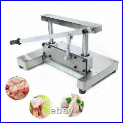 Commercial Kitchen Frozen Meat Bone Cutter Food Sawing Cutting Manual Machine US