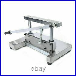 Commercial Kitchen Frozen Meat Bone Cutter Food Sawing Manual Cutting Machine US