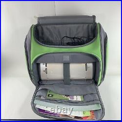 Cricut CRV001 Provo Craft 24 Personal Electronic Cutter Machine and Rolling Bag