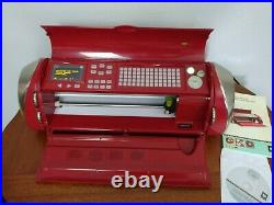Cricut Cake Personal Electronic Cutter Machine with 5 Cartridges and Manual