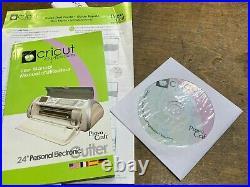 Cricut Expression Machine 24 Personal Cutter w Box Manual & Cartridges