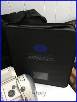 Cricut Expression Personal Electronic Cutter CRV001 Crafting Machine Bundle Lot