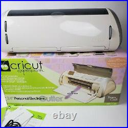 Cricut Expression Provo Craft 24 Personal Electronic Cutter Machine Lot 7
