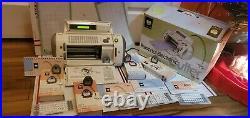 Cricut Original Personal Electronic Cutter Machine With 5 cartridges books etc