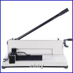 Desktop 400 Sheets Manual Paper Cutter Menu Book Magazine Trimmer Machine 12