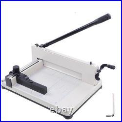 Desktop 400 Sheets Paper Cutter Steel Base A4 Book Menu Cutting Machine