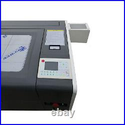 Desktop 50W Co2 Laser Engrave and Cutter Machine 20'' x 12'' CW-3000 Chiller