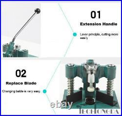 Desktop Manual fillet Corner Rounder Punch Cutter+2 Blades R6/R10-Random Machine