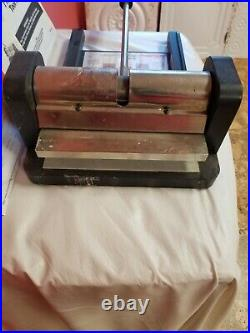 ELLISON Prestige Pro Die Cutter Machine Press New no box #19101 with Cutting Pads