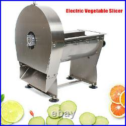 Electric & Manual Potato French Fries Cutter Vegetable Slicer Machine 10mm Adj