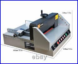 Electric Paper Trimmers Desktop Paper Cutter Machine Manual Pushing Paper Guillo