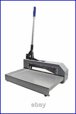 Enhanced Metal Plate Cutter Guillotine Shear Gauge Cutting Machine 12.6 L US