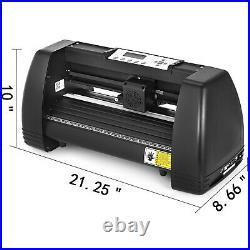 Heat Press Machine 12x10 Transfer +14 Vinyl Cutter Plotter Cutting 3 Blades