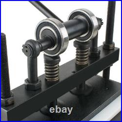 Height adjustable! Safty manual Hand Leather Die Cutting Machine leather Cutter