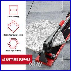 IRONMAX 48 Manual Tile Porcelain Cutter Machine Tungsten Carbide Cutting Wheel