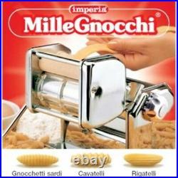 Imperia Gnocchi Cavatelli Cutters 150 mm 6 Pasta Maker Machine Set Made Italy