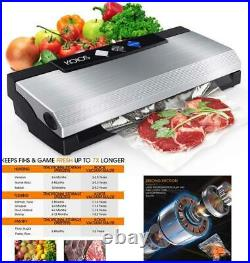 KOIOS Vacuum Sealer Machine, 80Kpa Automatic Food Sealer with Cutter for Food Sa