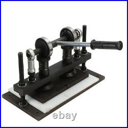 Leather Cutting Machine Manual Die Cutter 260X130 mm Leather Embossing Machine