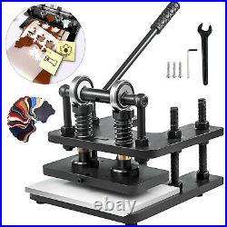 Leather Cutting Machine Manual Die Cutter 280x140mmLeather Embossing Machine
