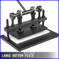 Leather Cutting Machine Manual Die Cutter 360x220mm Leather Embossing Machine