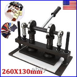 Leather Cutting Machine Manual Die Cutter Leather Embosser Hand Press Craft