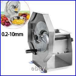 Lemon Slicing Onion Fruit Vegetable Cutter Slicer Machine Manual Commercial USA
