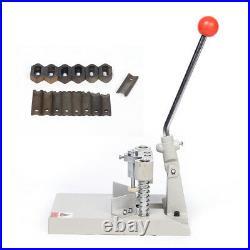 Long Handle Manual Angle Machine R3-R13 Corner Rounder Punch Cutter Desktop