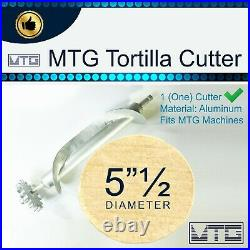 MTG Tortilla Machine Roller & Crank Full PK 2 Cutters Included 3.5 and 5.5