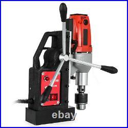 Magnetic Drill Press Machine 12-40mm Metal Drill Press Tapping 980W-1200W 110V
